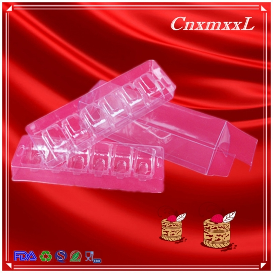 6 pcs blister plastic tray