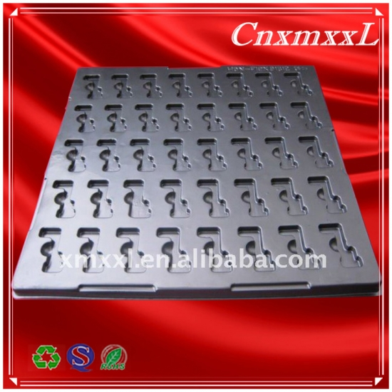 Black PS ESD antistatic blister tray