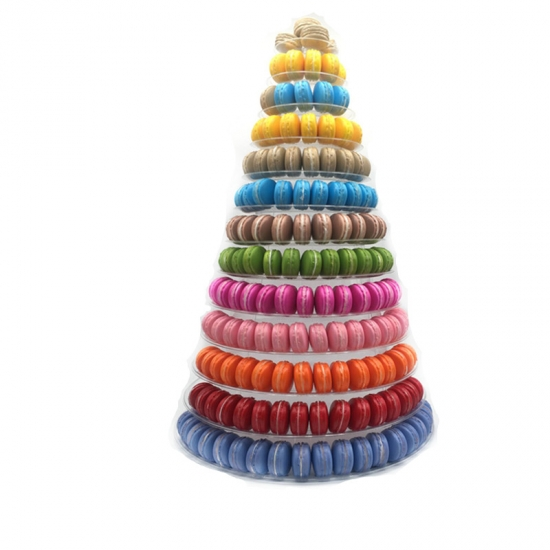13 tiers macarons packaging